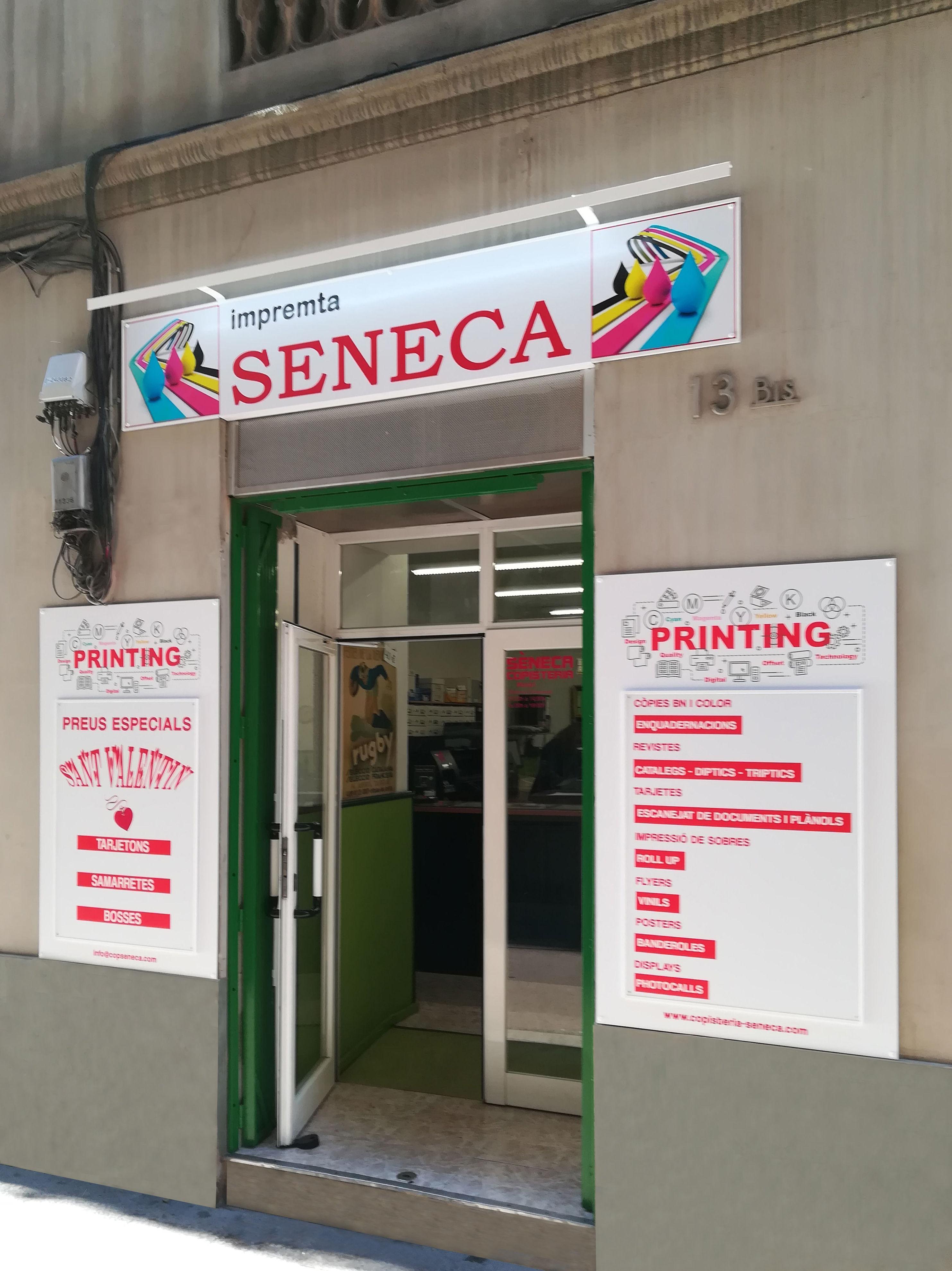 Foto 1 de Imprentas en Barcelona | Sèneca Copistería