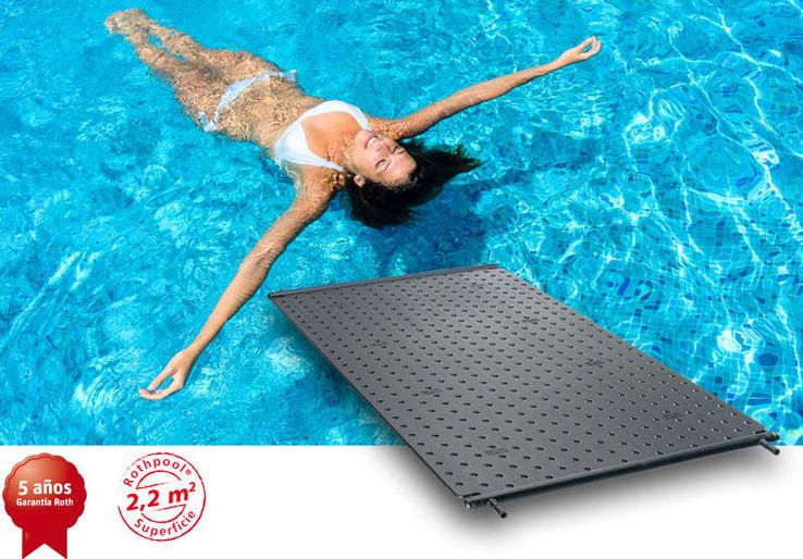Placas solares piscinas servicios de agener canarias for Piscina solares