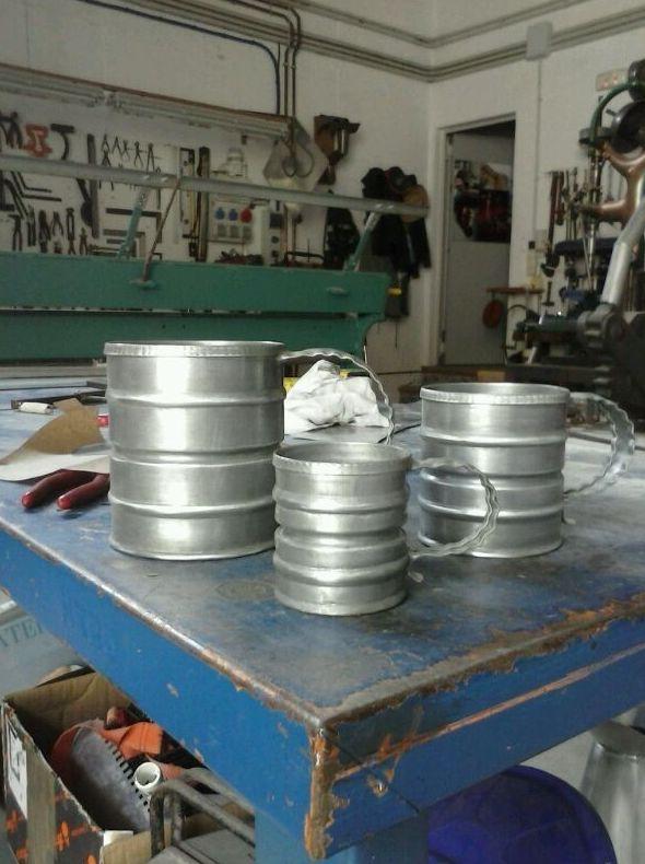jarras de zinc
