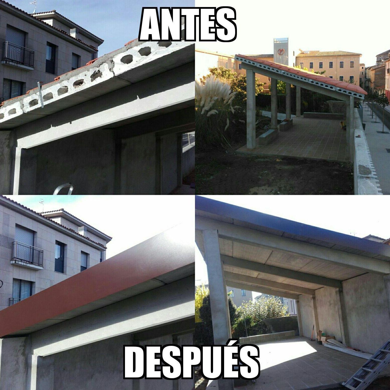 canalones y cubiertas en Málaga