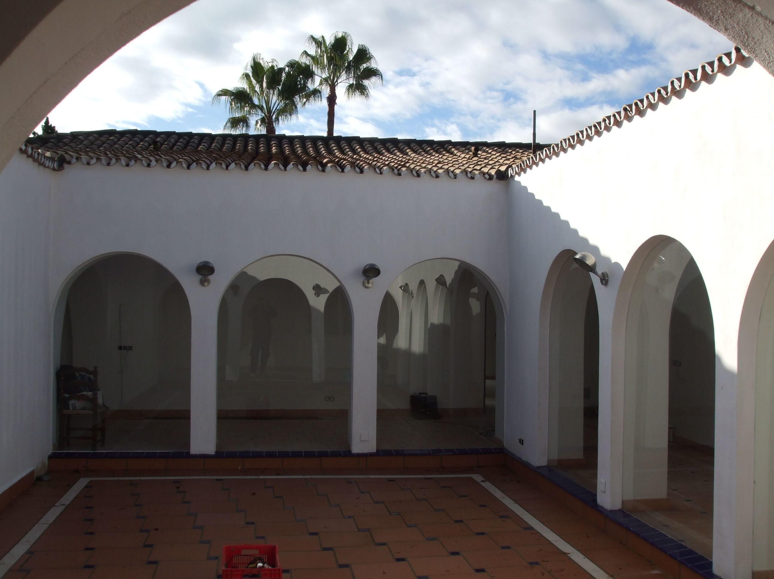 San Pedro Alcántará, antes