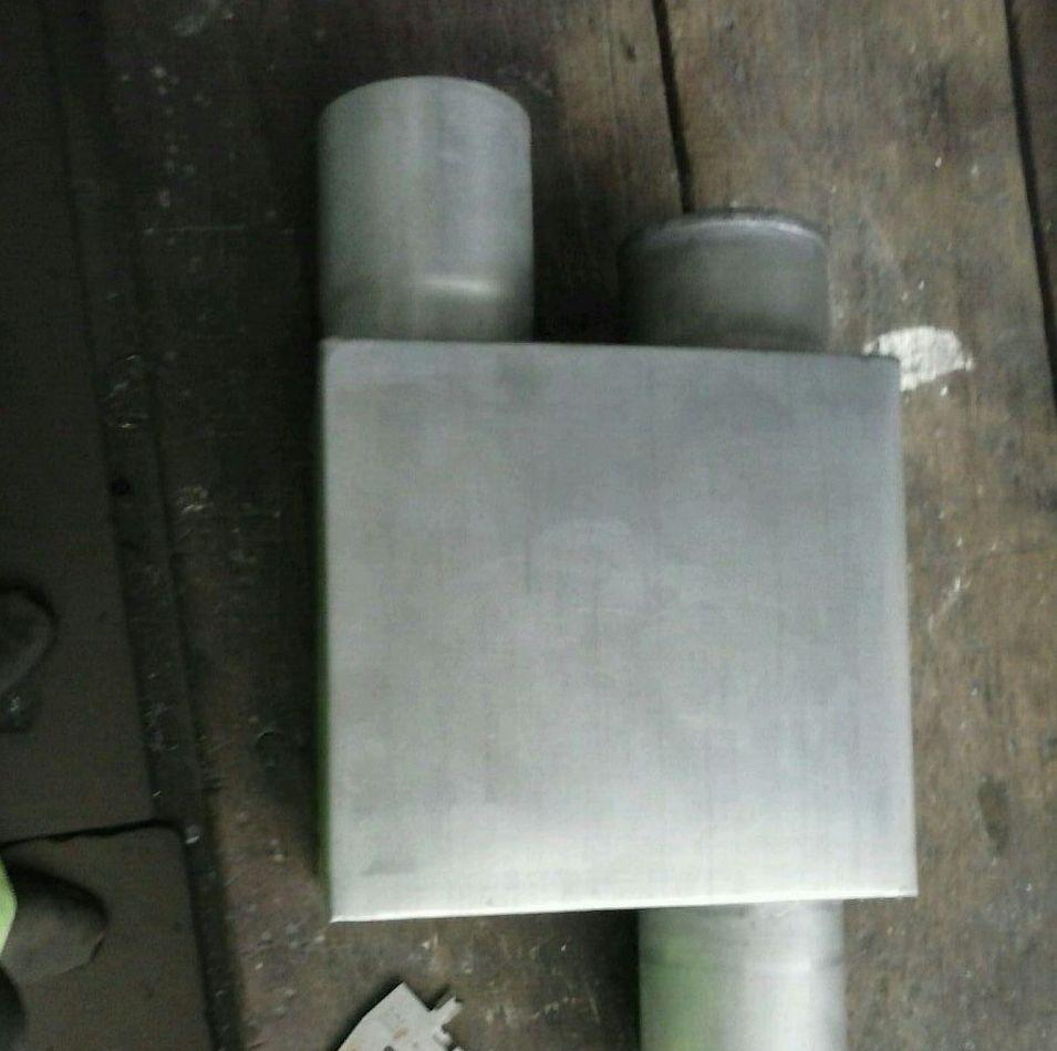 Sifón Ø80 zinc, evita malos olores