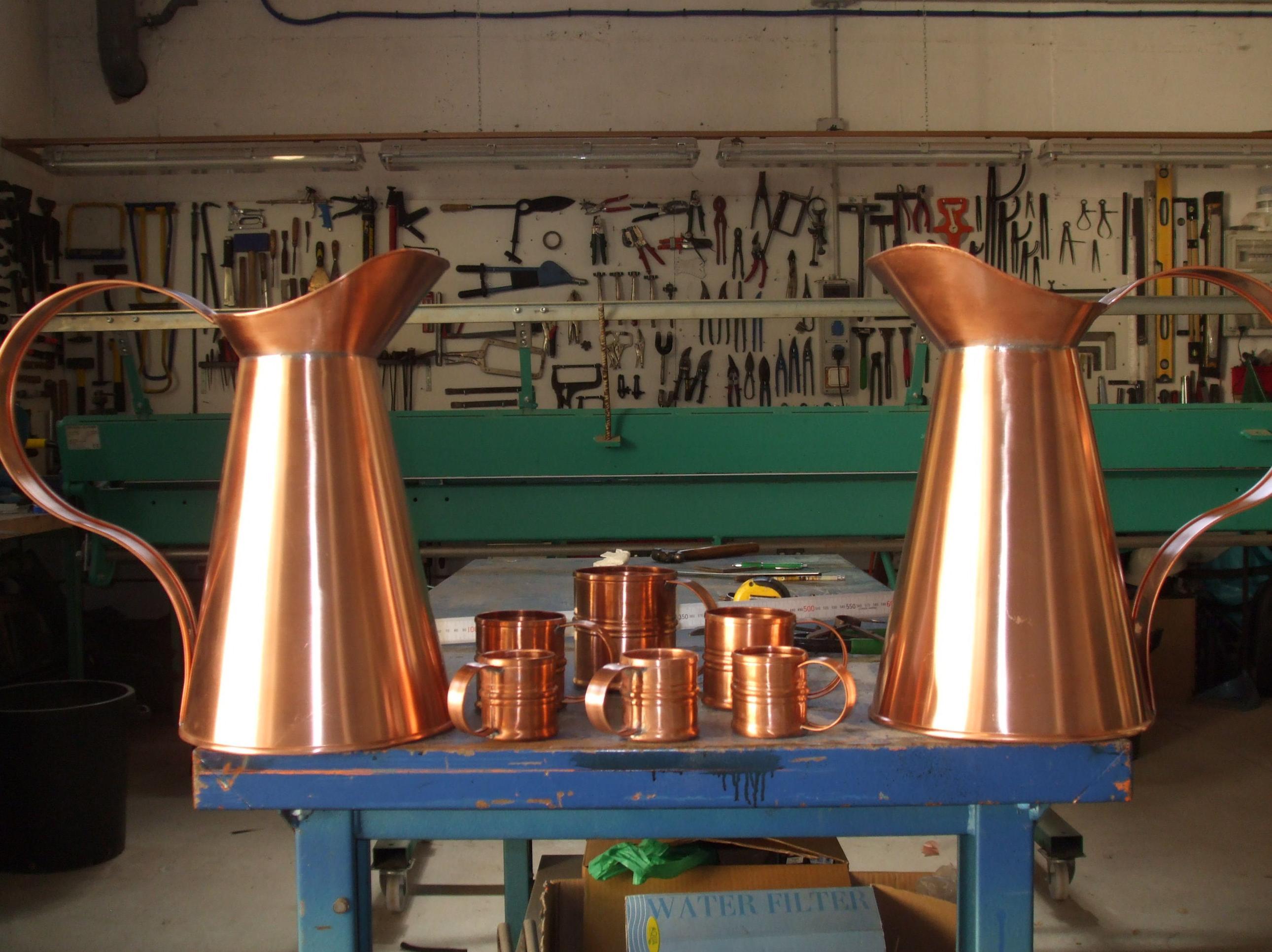 piezas de encargo, cobre