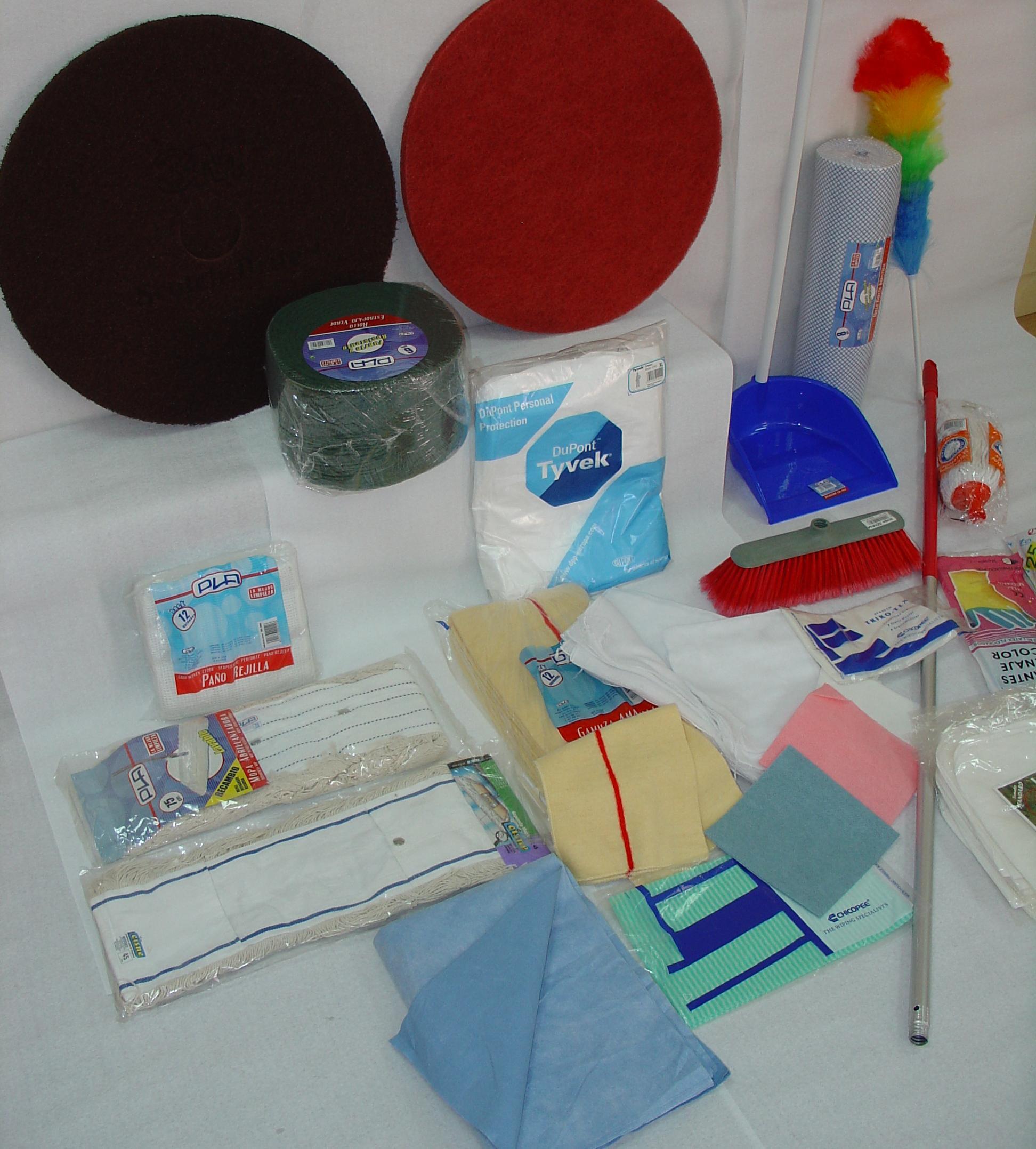 Venta de productos y materiales de limpieza