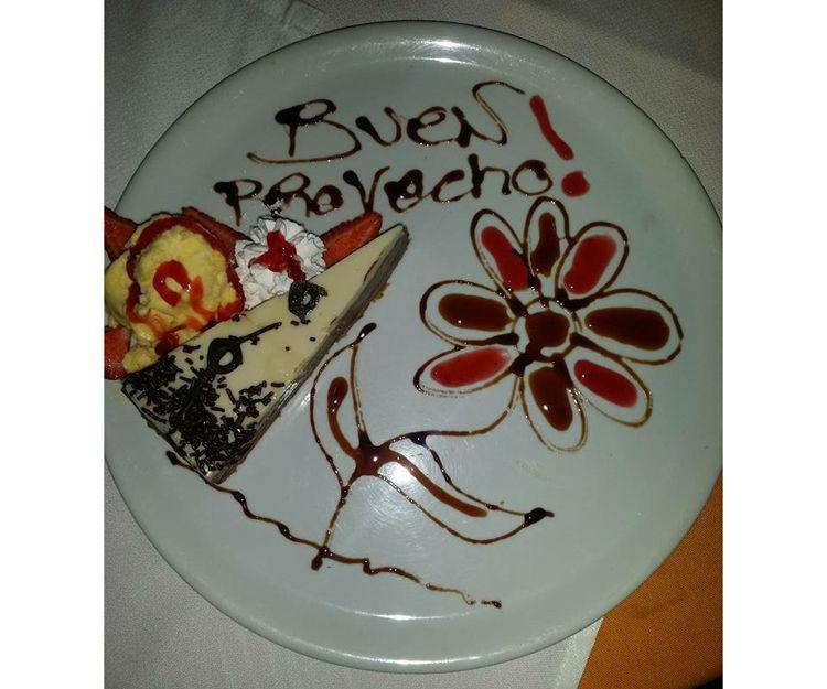 Tarta de chocolate en Mogán