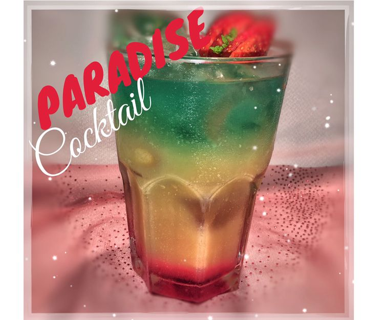 Paradise cocktail en Mogán