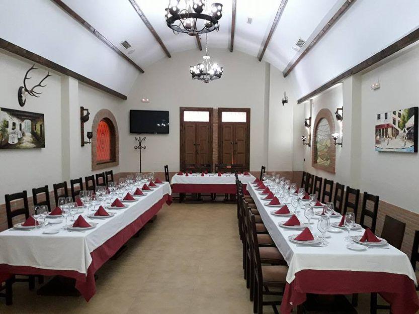 Restaurante para celebraciones en Don Benito
