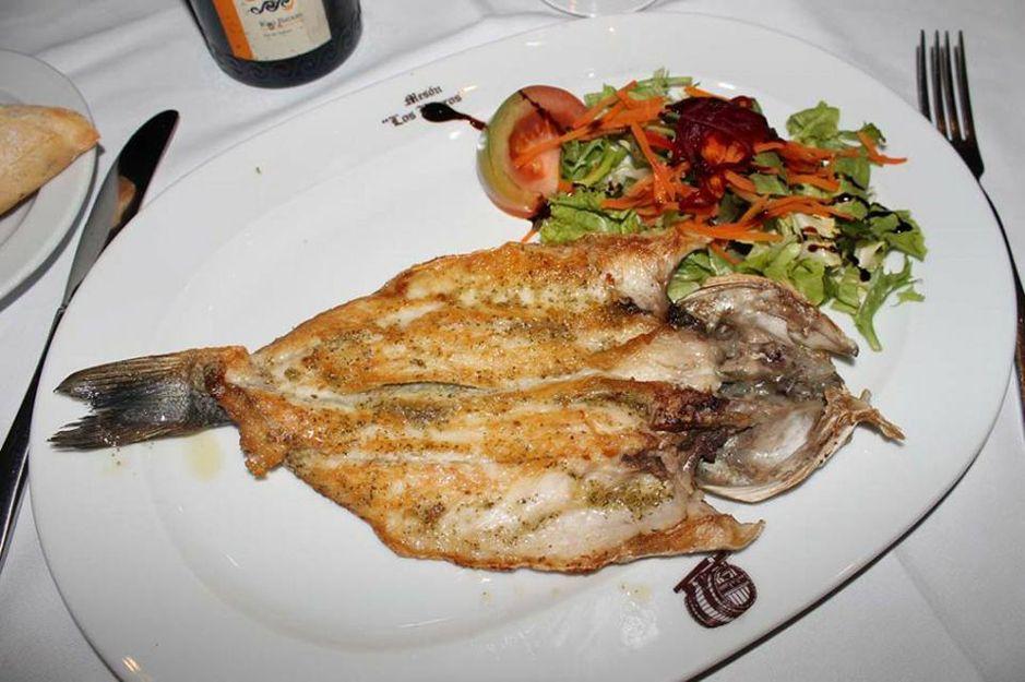Los mejores pescados en Mesón Los Barros en Don Benito