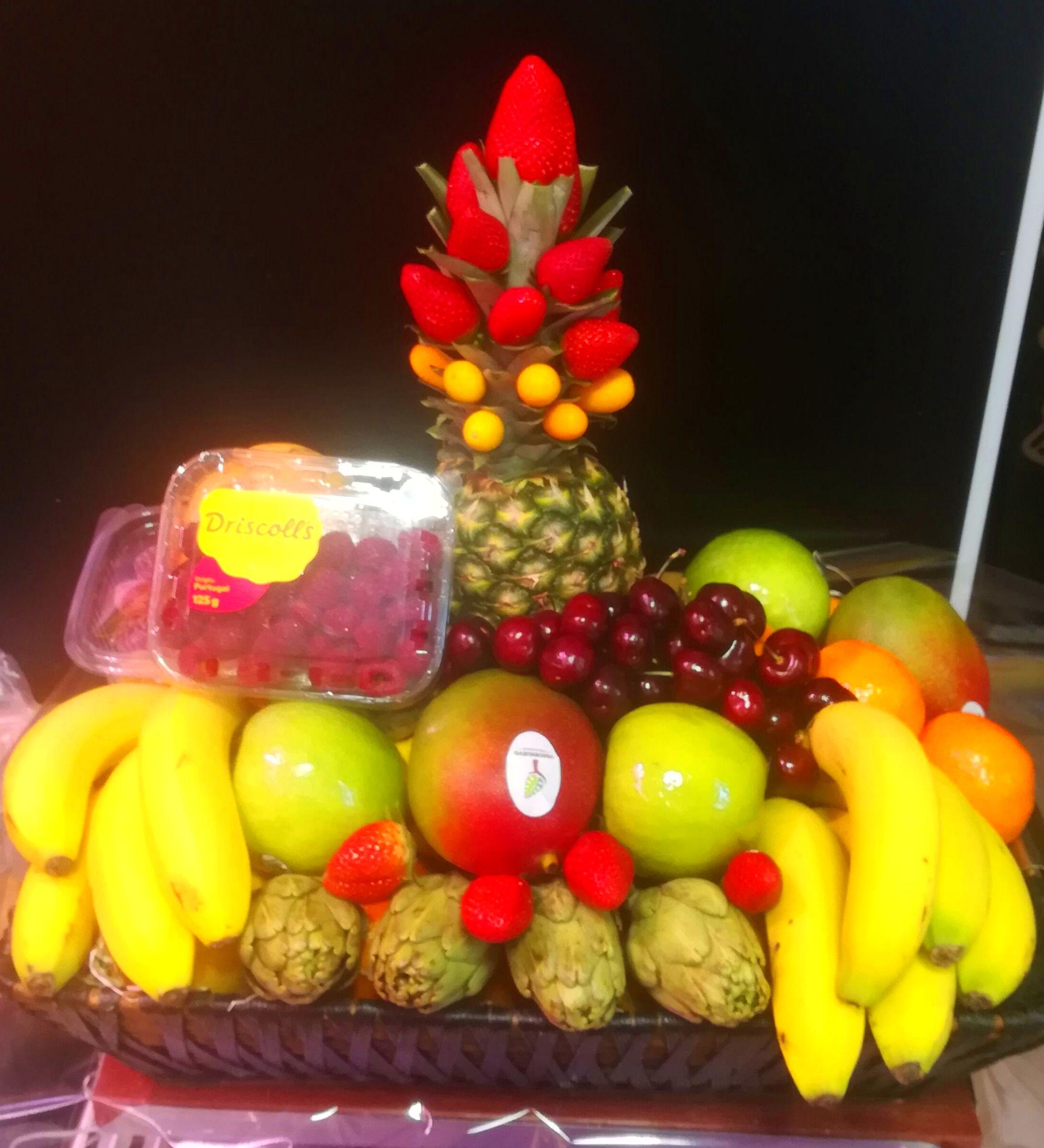 Cesta mixta de verduras y frutas de FRUTAS PAULA