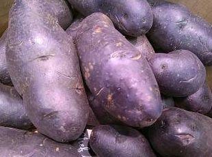 Patata violeta de Frutas Paula