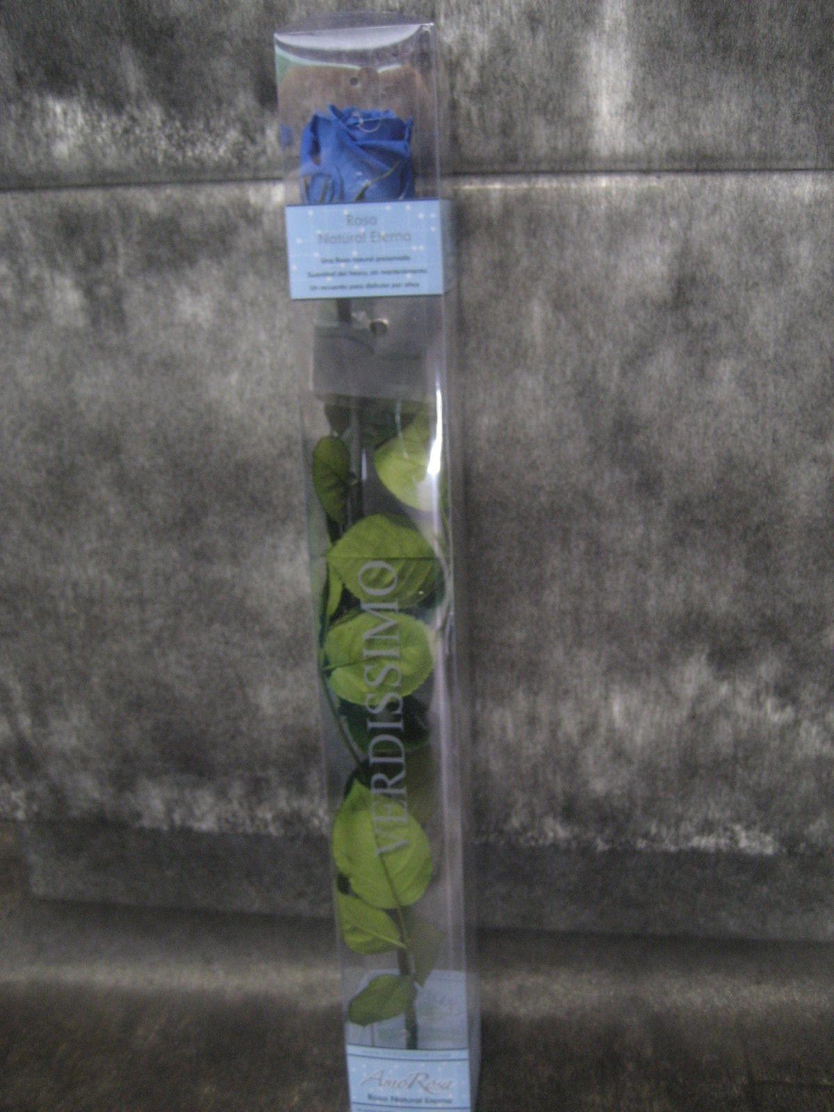 Rosa Preservada Azul: Nuestras flores de Bouquet Flores y Plantas