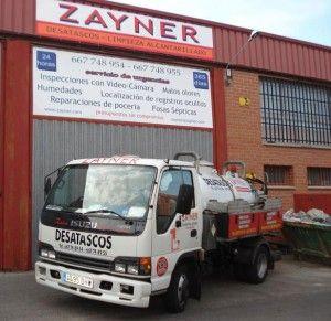 Servicios integrales de Alcantarillado en Madrid | Zayner