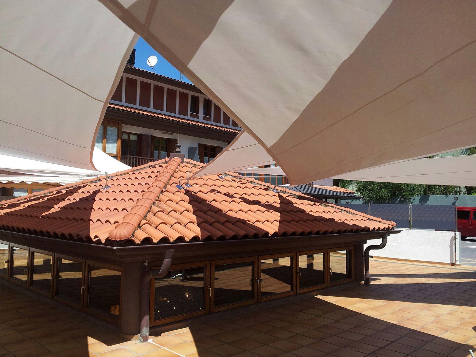 Fábrica de toldos en Donosti