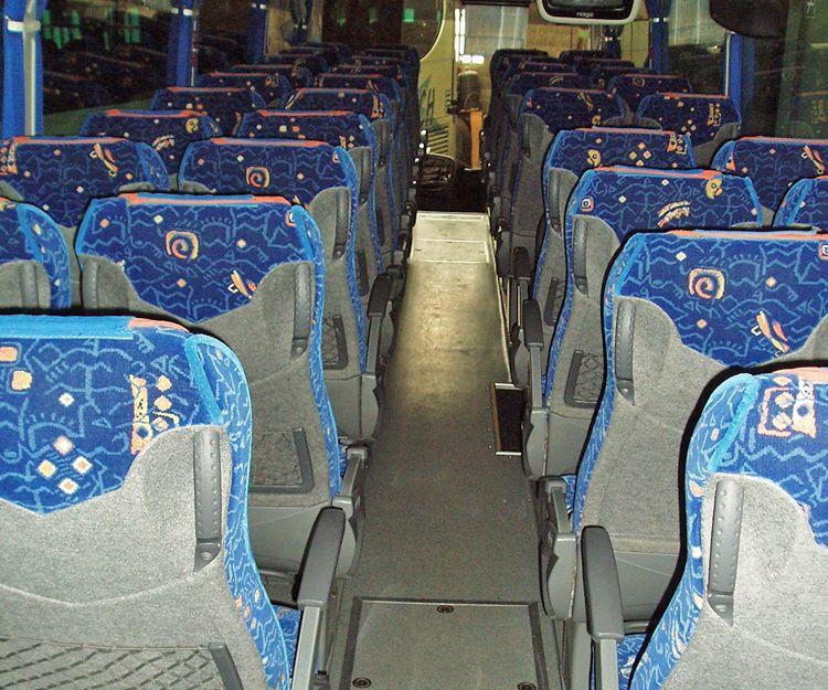 Asientos de autobus
