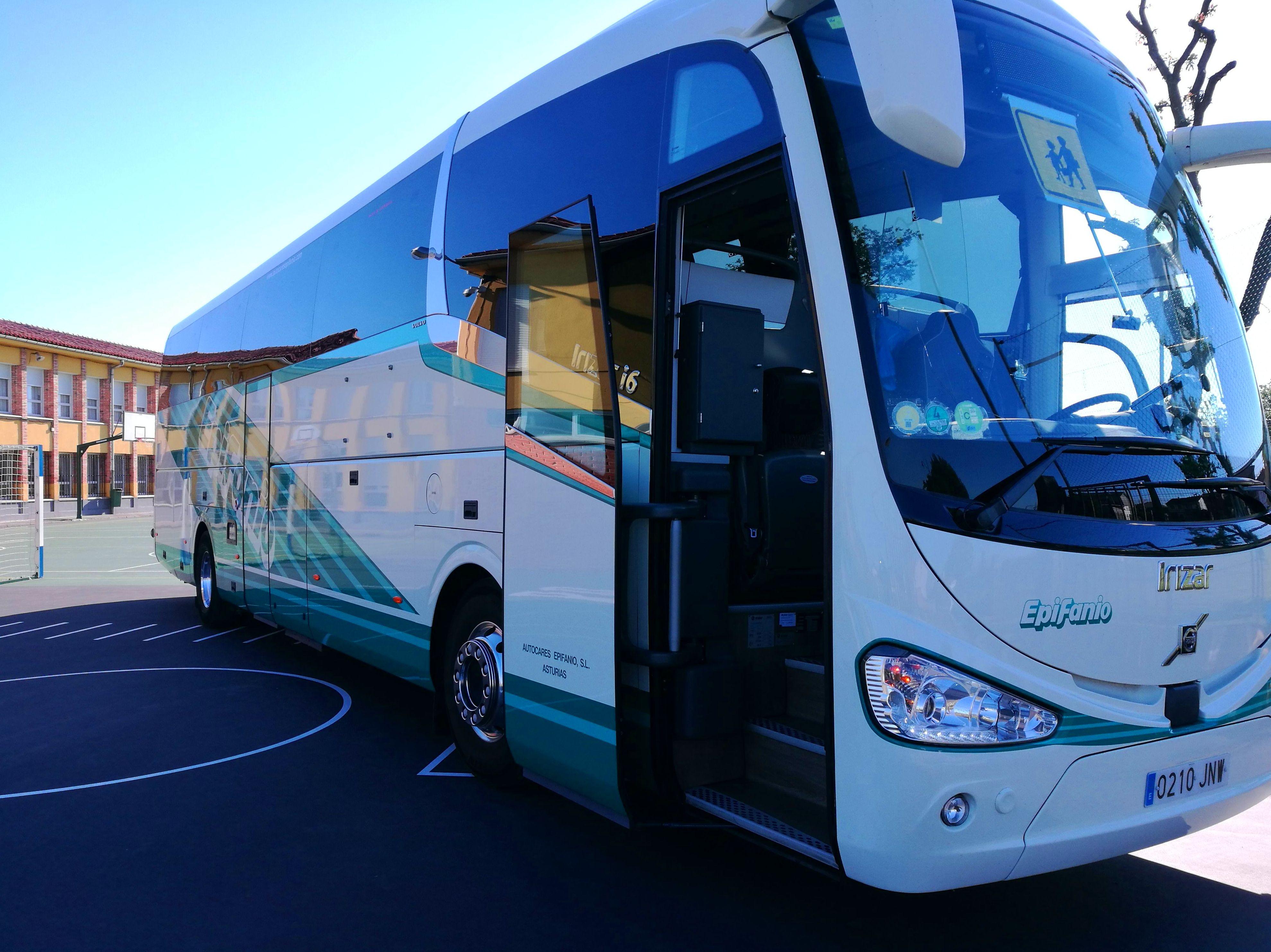 alquiler de autobuses Oviedo