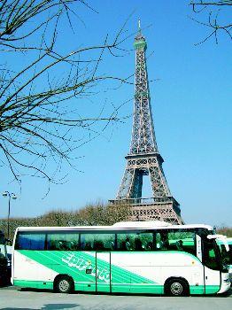 Autocar en Paris