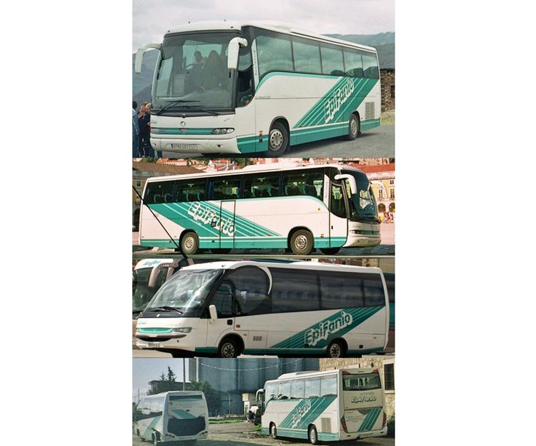 Flota de autocares en Asturias