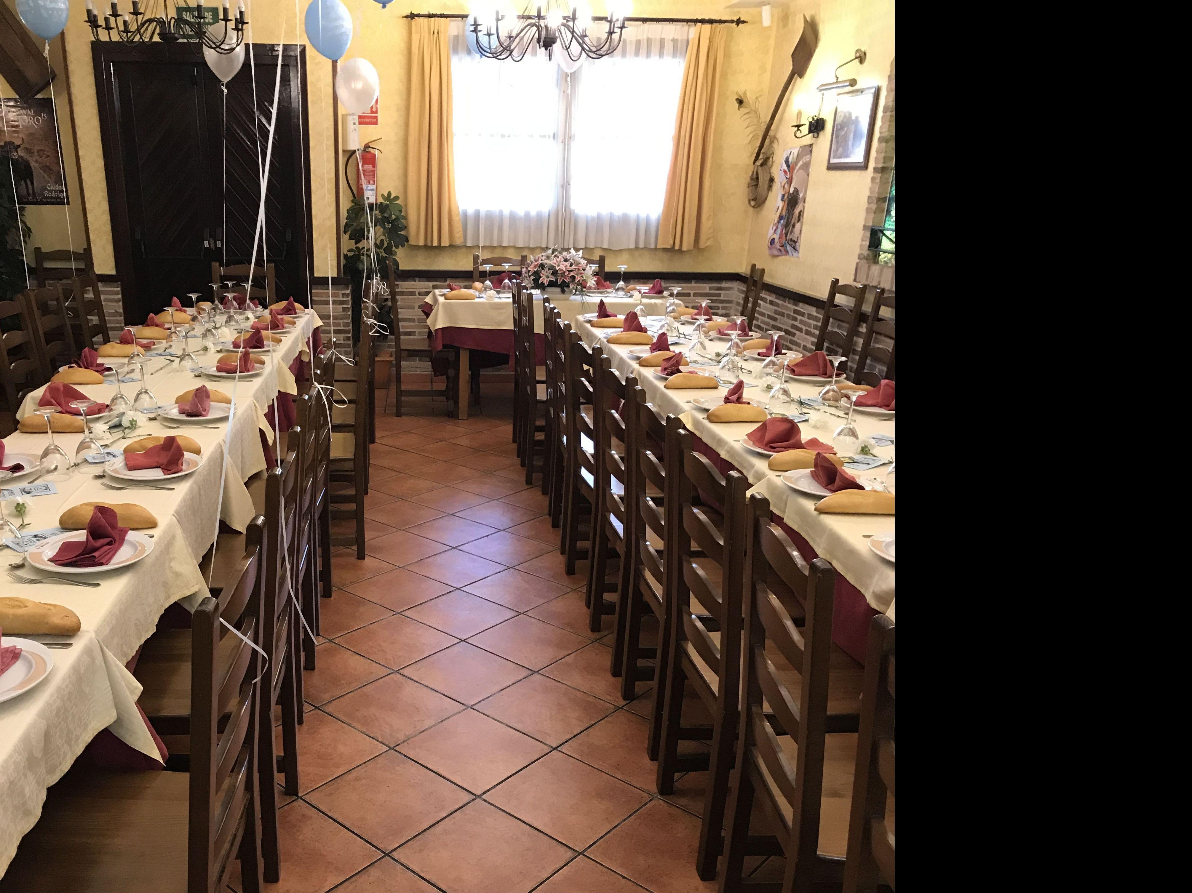 Restaurantes para bautizos en Valdemoro