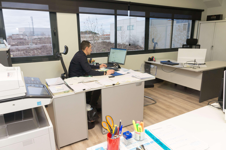 Interior de nuestras oficinas Fanclima