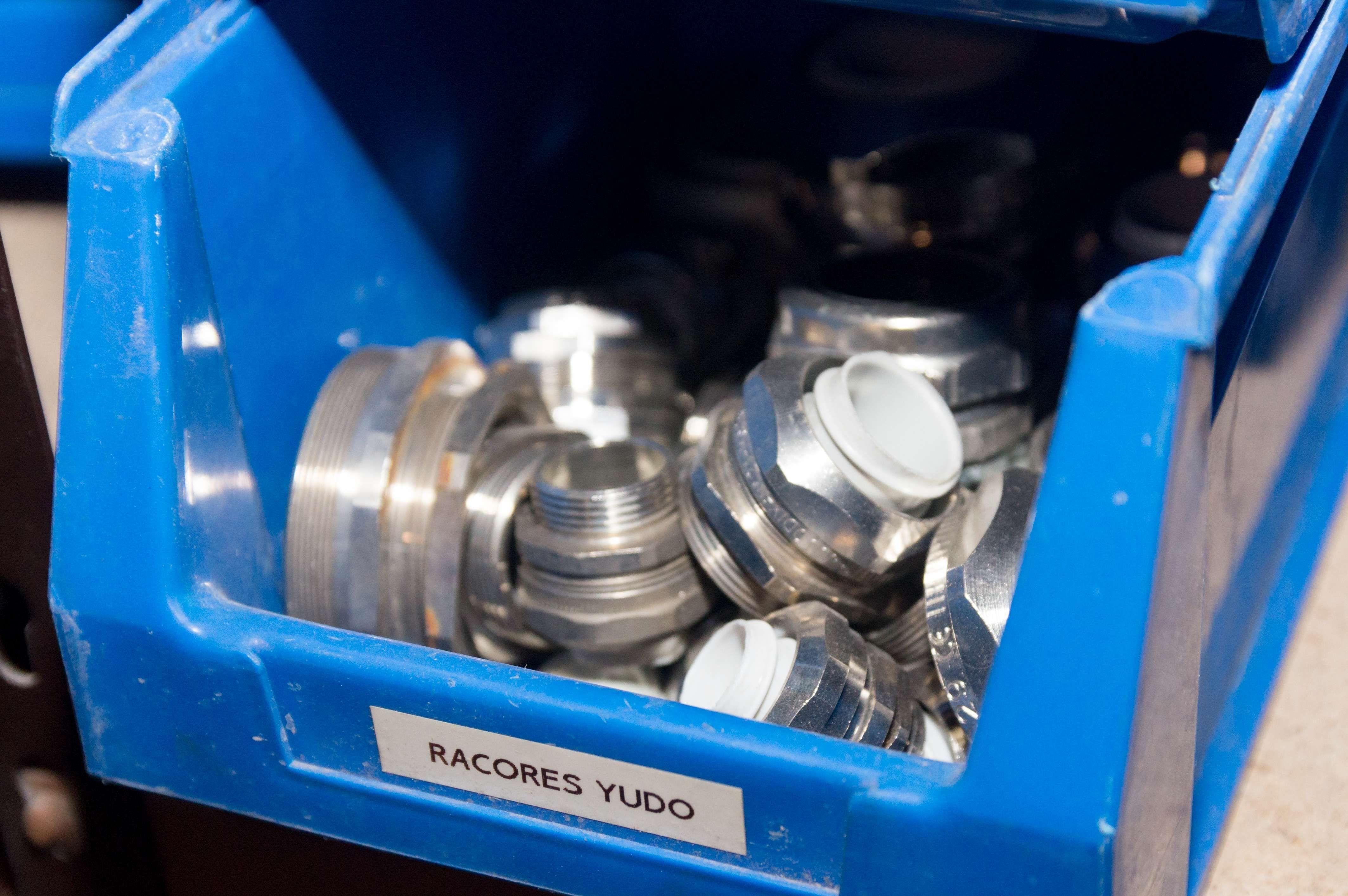 Racores yudo piezas que se utilizan en los mantenimientos