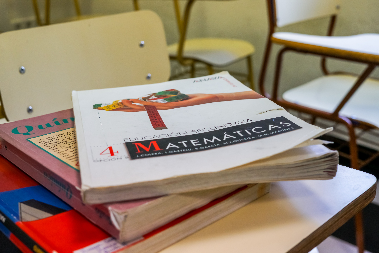 Libro de matématicas