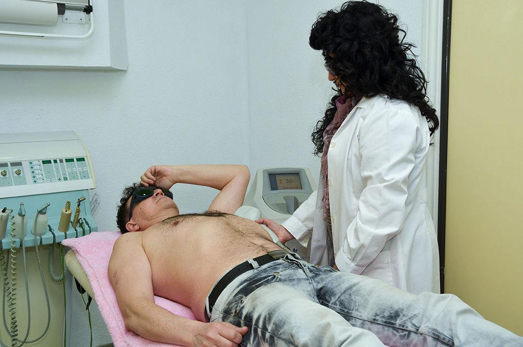 Tratamientos de depilación masculina