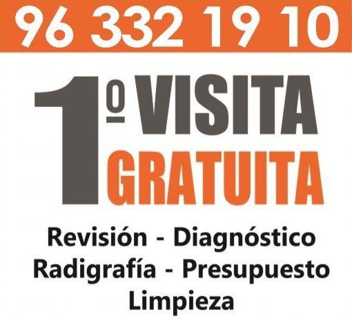Revisión, diagnóstico, radiografía, limpieza dental y presupuesto GRATUITO