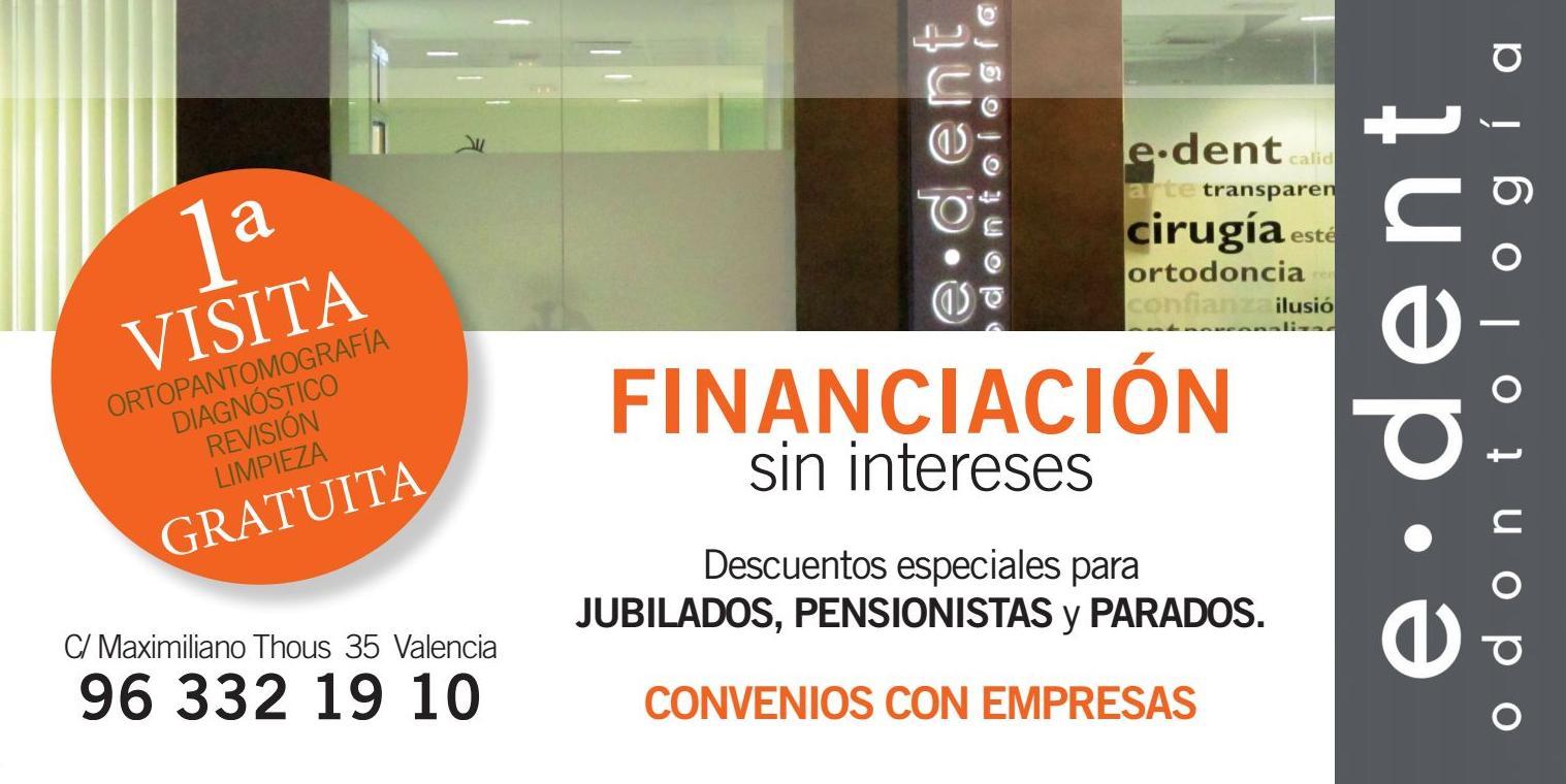 OFERTA CLINICA DENTAL VALENCIA www.edentodontologia.com