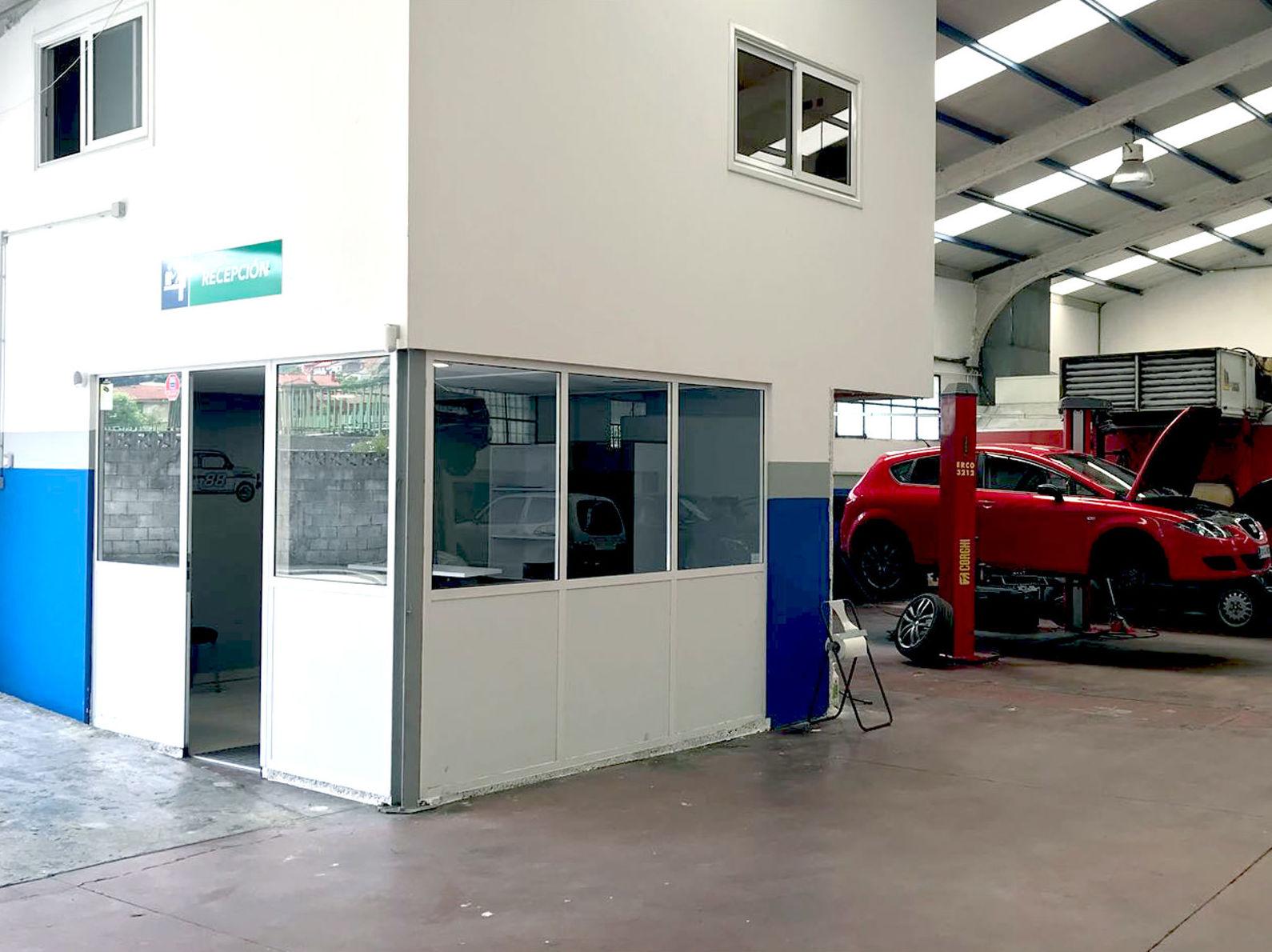 Foto 2 de Taller de automóviles en Laviana | Taller El Sutu