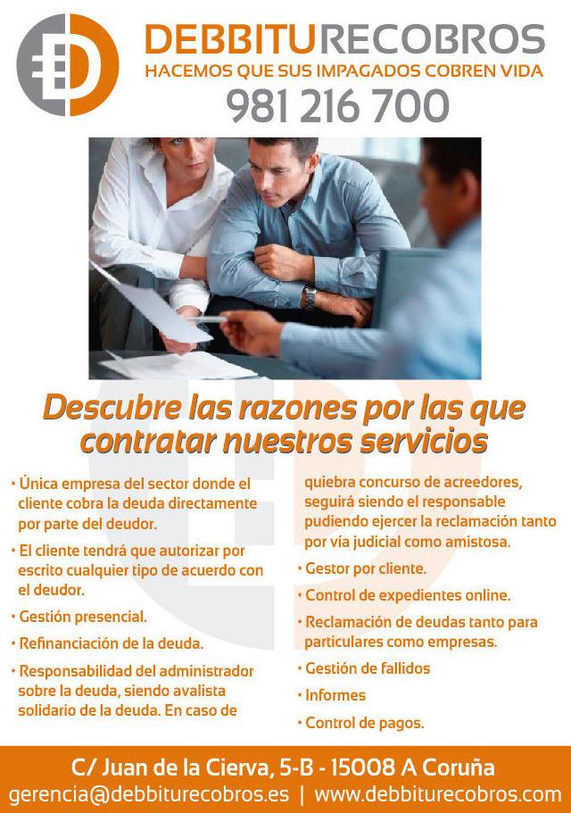 Foto 1 de Empresa de recobros en  | Debbitu Recobros