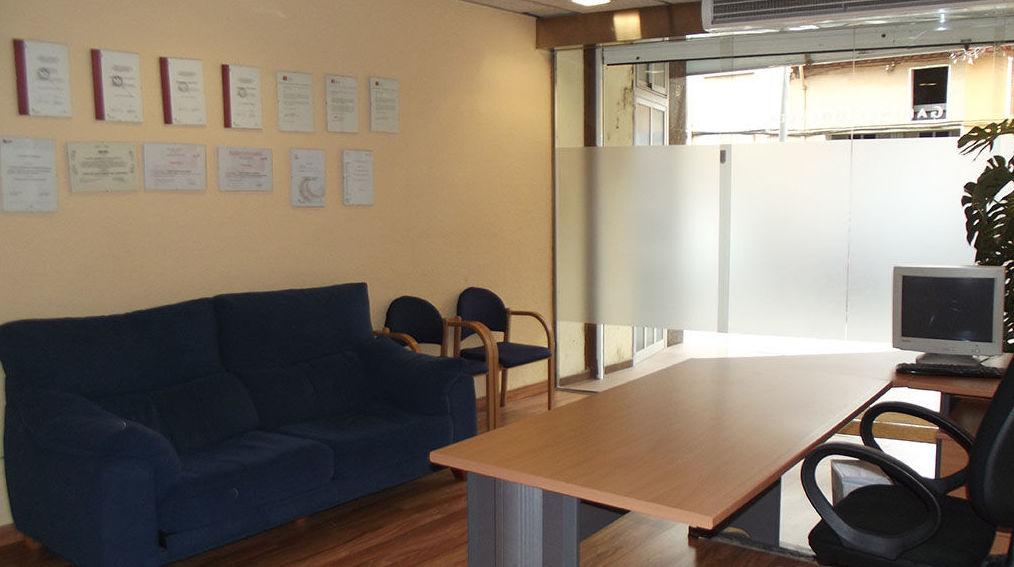 Sala de espera de nuestro gabinete psicológico