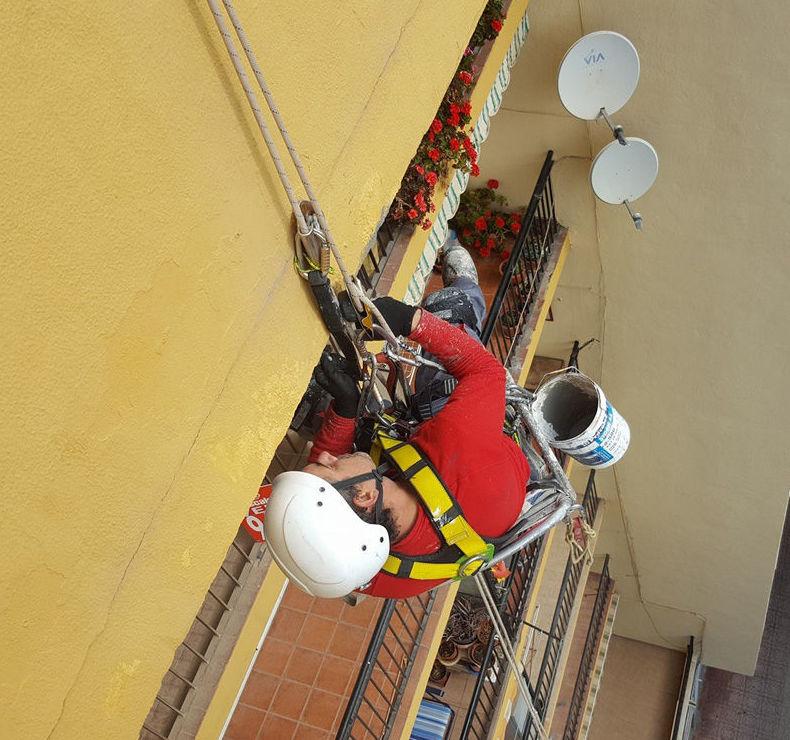 Profesionales en trabajos verticales