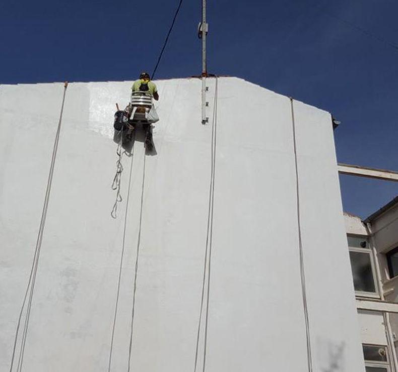 Especialistas en pintura de fachadas