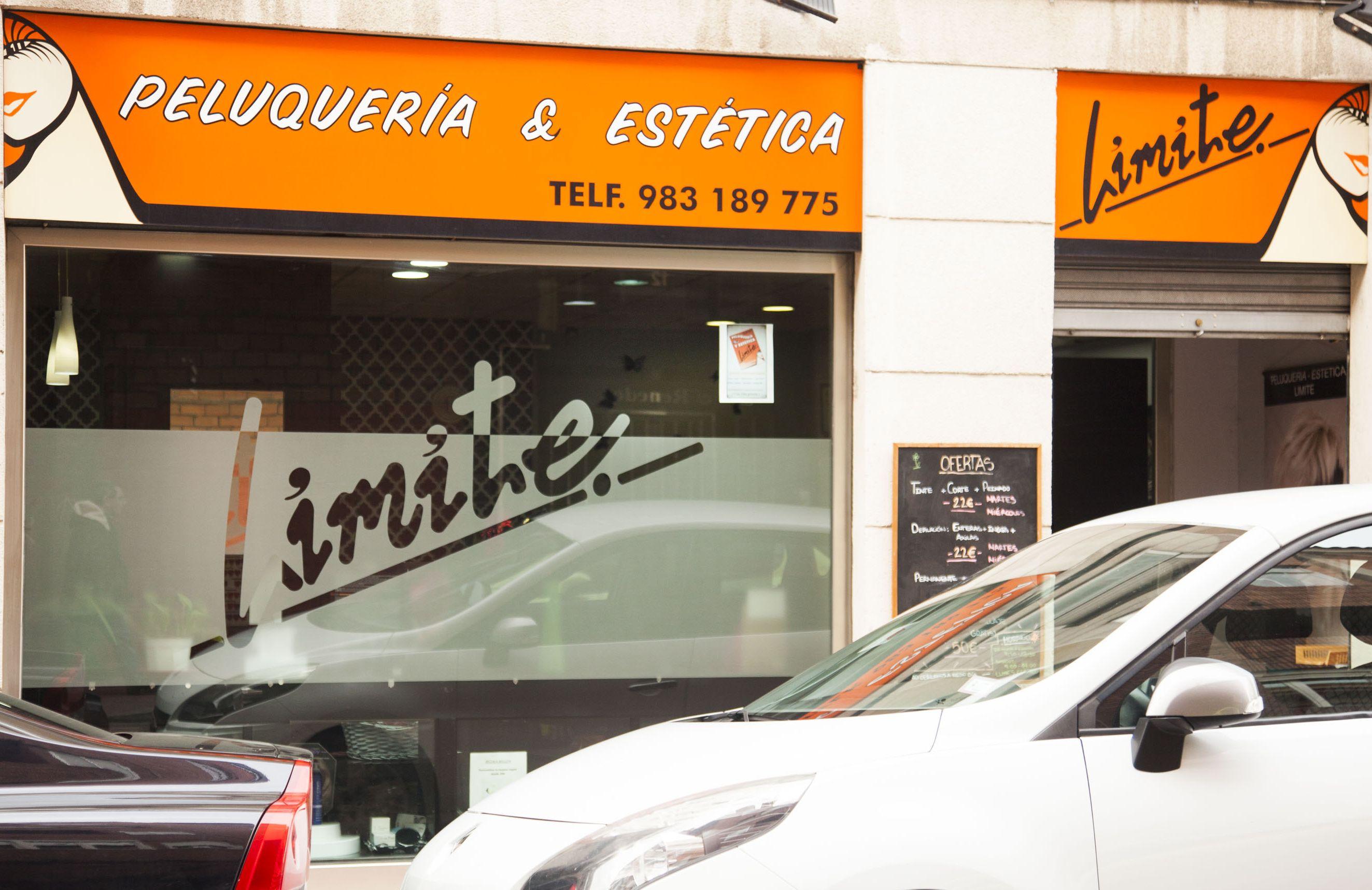 Centro de peluquería y estética Límite