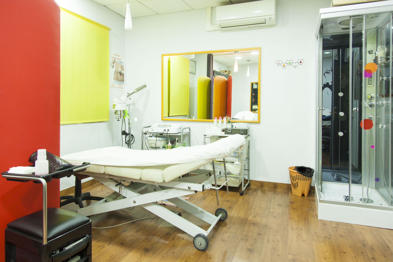 Área para los tratamientos corporales