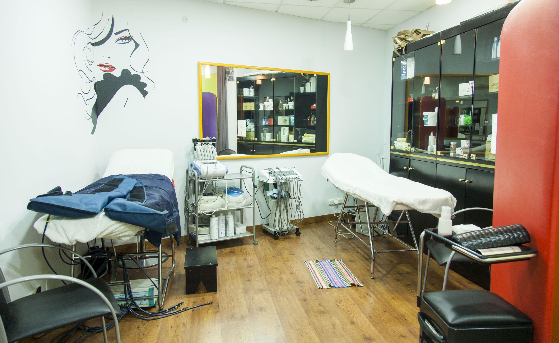 Sala para tratamientos corporales
