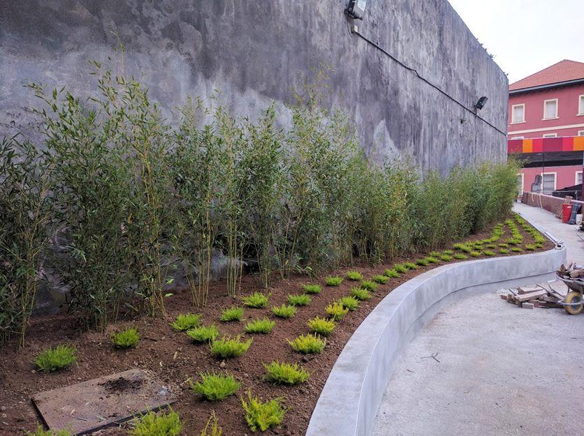 Diseño y ejecución de jardines en Bilbao