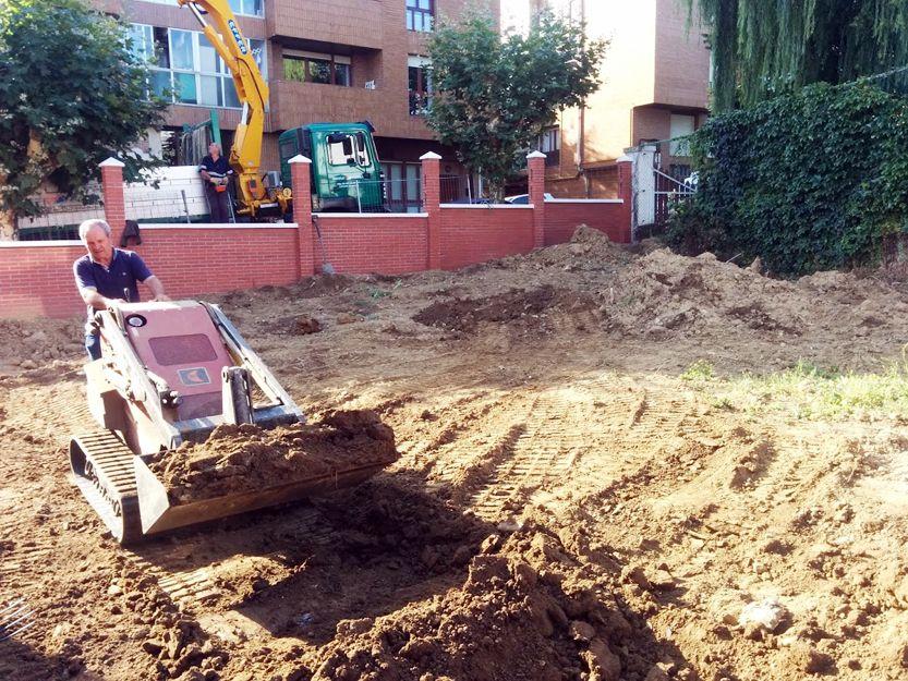 Construcción de jardines en Bilbao