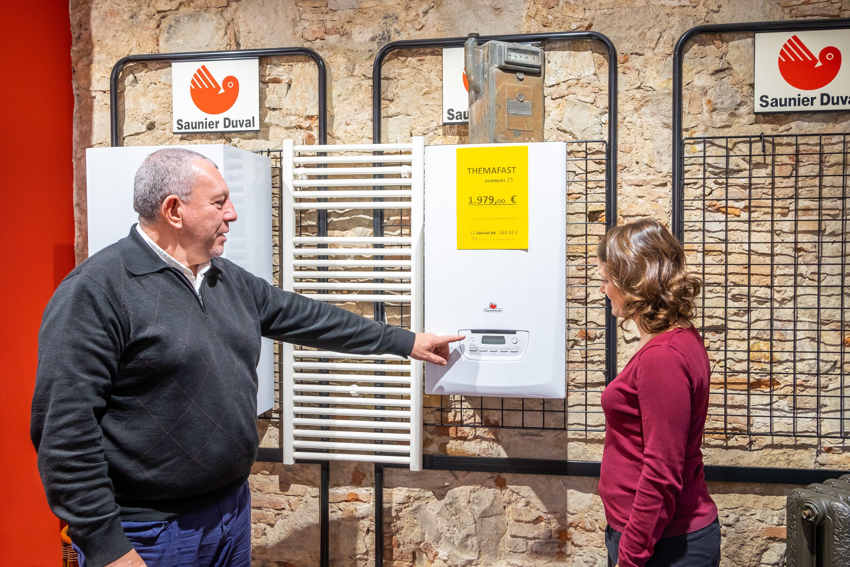 Venta e instalación de calderas en Barcelona