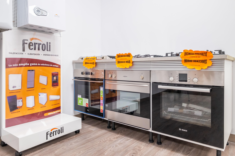 Venta de electrodomésticos de cocina en Barcelona