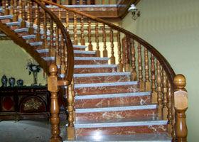 Industrias de la madera - Escaleras