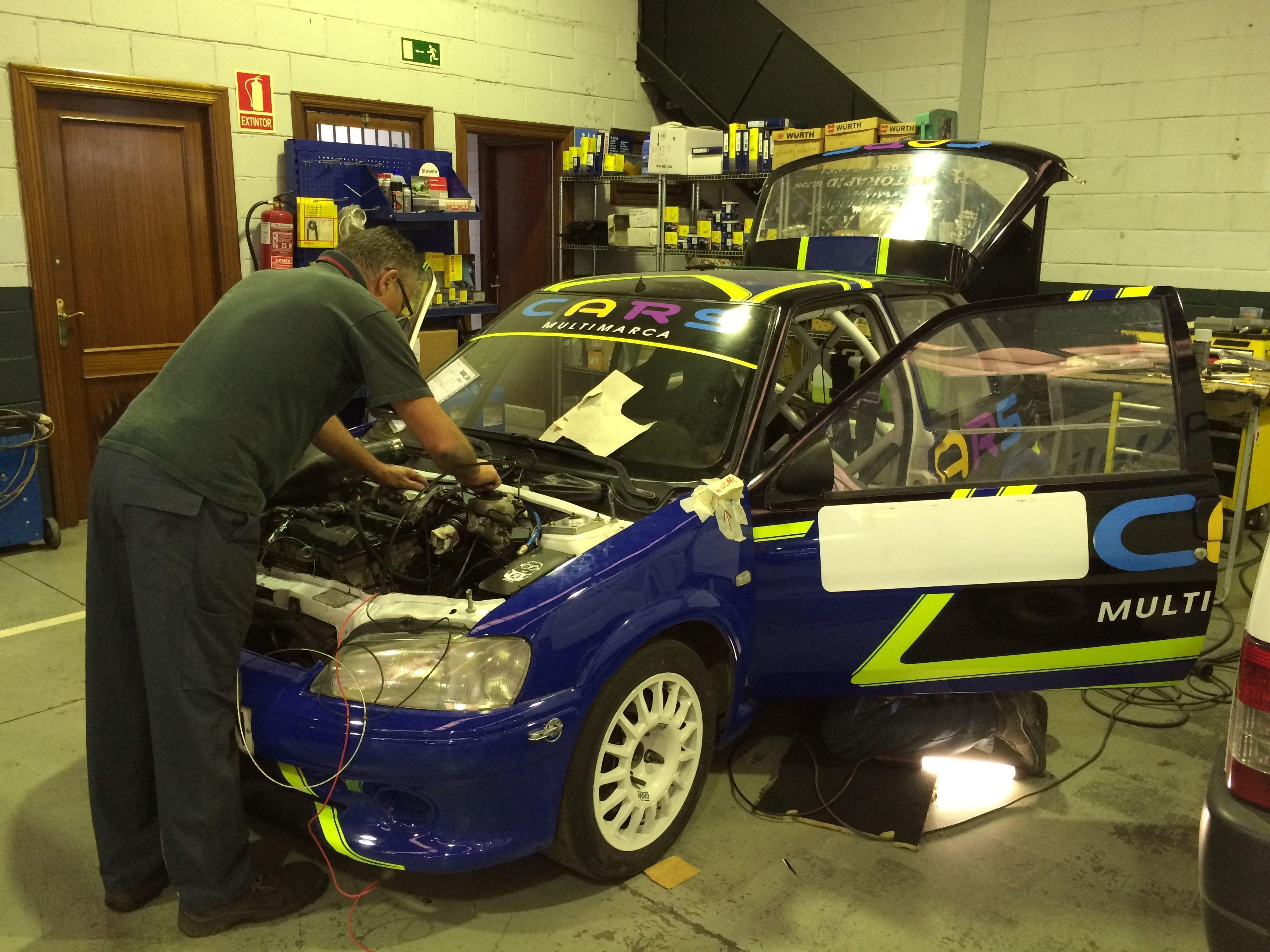 Continuamos con la adaptación de este PEUGEOT 106 Rally para Jony. Adaptación de vehículos Asturias