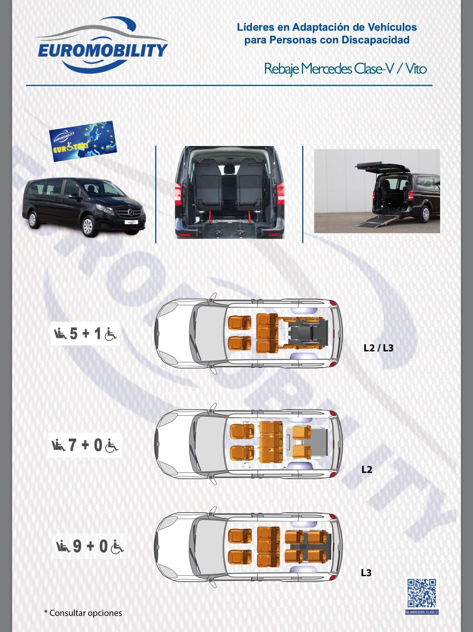 Mercedes Vito clase V Rebaje de piso cajeado adaptación de vehículos Asturias