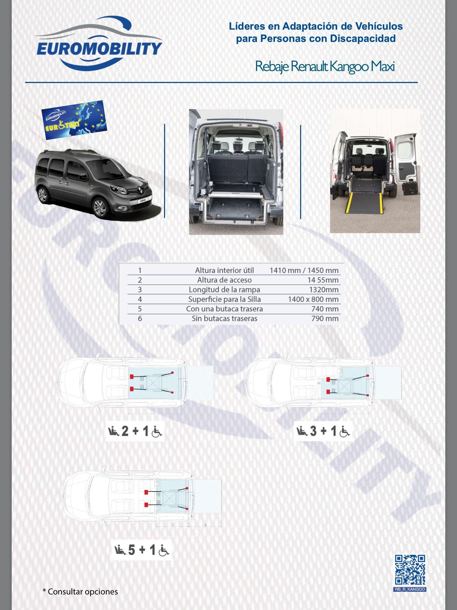 Rebaje de piso / Cajeado Renault Kangoo Maxi. Adaptación de vehiculos Gijon