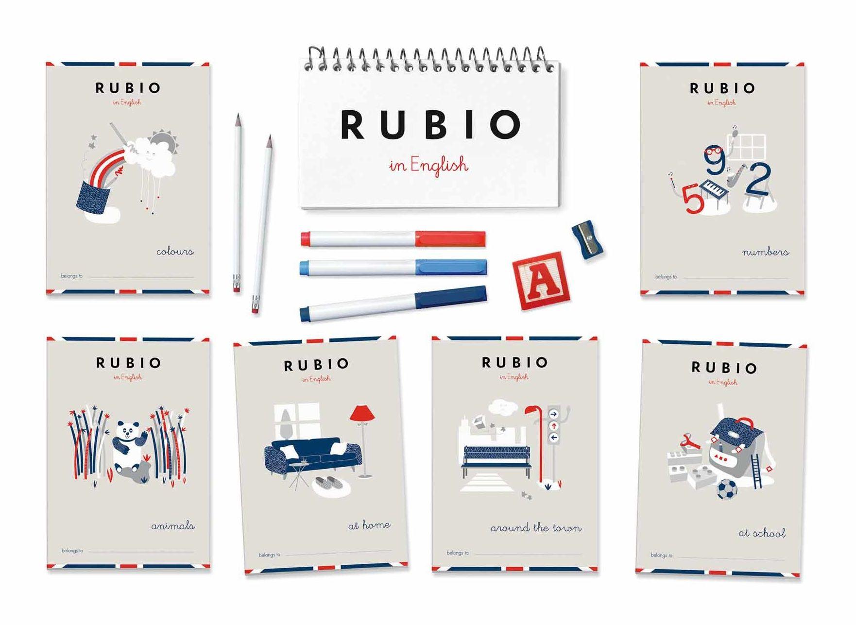 Cuadernillos Rubio en inglés