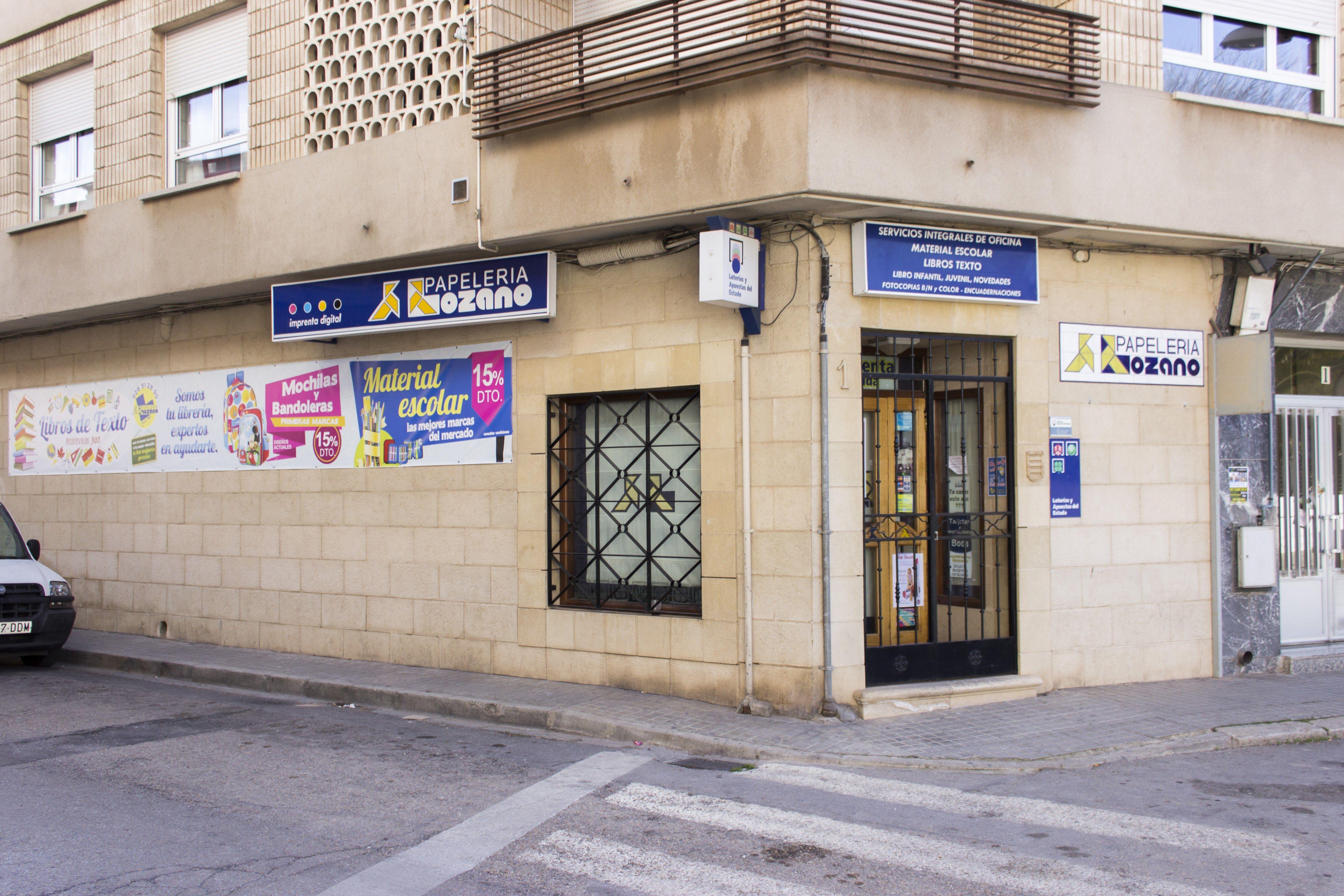 Foto 4 de Papelerías en Tomelloso | Papelería Lozano