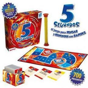 Juego de mesa 5 segundos