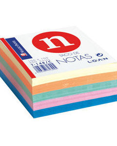 Papel para notas de colores