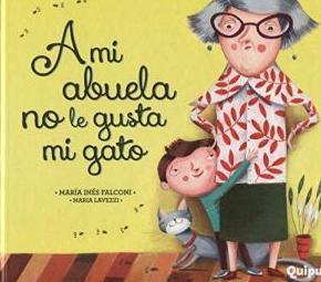 """Libro """"A mi abuela no le gusta mi gato"""""""