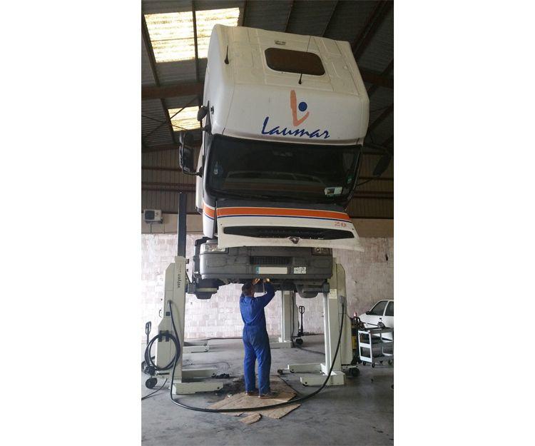 Taller especializado en reparación de camiones en Valencia